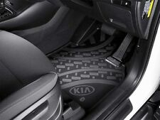 GENUINE KIA UM SORENTO POLY RUBBER FLOOR MATS ALL WEATHER MAT SET Si SLi PLATINU
