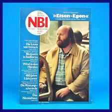 NBI 40/1980 - Ivenack WMK Berlin Lippizaner Südkorea Simeoni - DDR-Zeitschrift