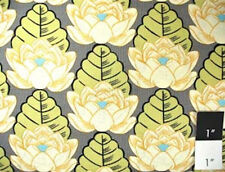 Amy Butler Lotus Lotus Pond Ivory Cotton Fabric By Yard