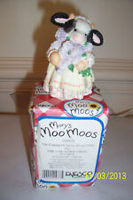 """MARY'S  MOO MOOS """"The Coming of Spring""""  COW FIGURINE - # 104876"""