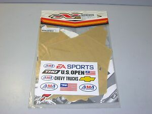 KTM 125 200 250 450 525 SX New CLEAR Precut Backgrounds N-Style 2004 2005 2006