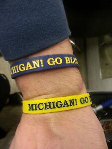University of Michigan Wolverines NCAA Slap Bracelet