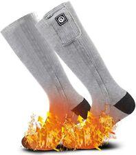 Heated Socks Electric Rechargable Battery Heating Thermal Socks Foot Warmers
