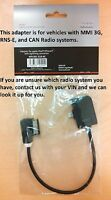 AUDI Genuine OEM iPhone 5 - iPhone 6 AMI Lightning Adapter Cable 4F0051510AC