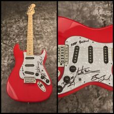 GFA Austin Bisnow x3 Band * MAGIC GIANT * Signed Electric Guitar AD1 COA