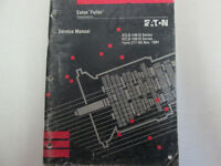 1991 Eaton Fuller RTLO Series Transmissions Service Manual Used Wear OEM Book **