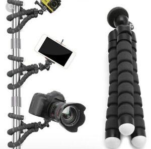 Flexible Tripod Stand Gorilla Mount Mono Pod Holder Octopus For Go Pro Camera