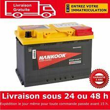 Hankook 12V 70Ah AGM Start Stop Batterie de Démarrage Pour Voiture 277x174x190mm