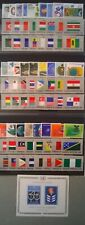 UN NY 1980-1982 United Nations Scott 316-391 Complete MNH 3 Year Run With Flags