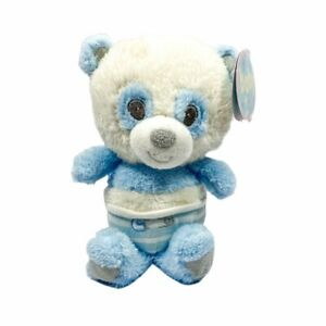 First and Main Blue Baby Panda Plush 9in Stuffed Animal Toy 2995