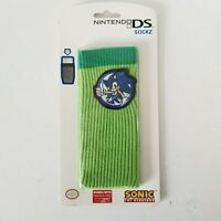 Nintendo Mad Catz Sockz DS DSi Green Sleeve Sonic the Hedgehog NEW SEALED