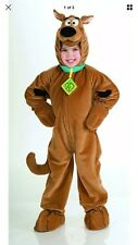 Scooby-Doo Plush Deluxe Costume Child Small Priority Mail ~DEFECT!!!