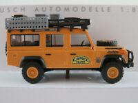"Busch 50378 Land Rover Defender 110 (1983) ""Camel Trophy 1989"" 1:87/H0 NEU/OVP"