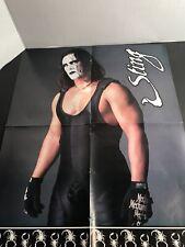 Sting/nitro Girls 2 Sided wcw NWO wwe wrestling magazine pinup photo poster