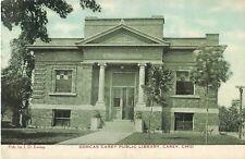1909 Dorcas Carey Public Library, Carey, Ohio Postcard