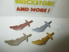 Lego - Weapon Sword Epée Schwert 60752  - Choose Color & Quantity