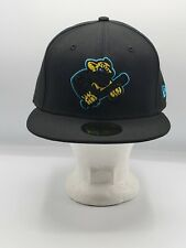 Kane County Cougars New Era 59FIFTY Fitted Hat - Blackout 7 3/8