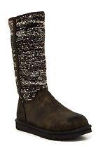 Ugg Australia Women's Camaya Sequin Black Calf Boot size 5 $175 ns12/15