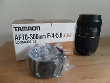 Tamron AF70-300mm F/4-5.6 Di LD Tele-Macro 1:2 Lens - For Nikon Fit