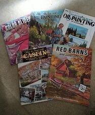 Vintage How To Art Books 5 Walter Foster - Painting Fun Artists Acrylic Oils