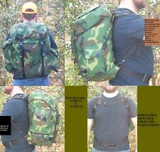 BACKPACK - MILITARY / TACTICAL / SURVIVAL / BUG OUT BAG  - WOODLAND CAMO. -  NEW