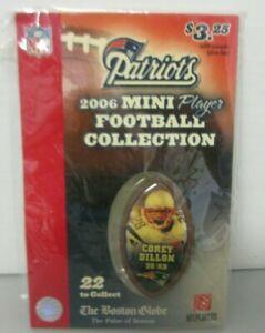 NFL New England Patriots Corey Dillon #28 Mini Players Football Collection 2006