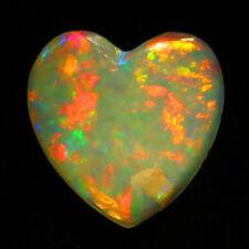 4 MM HEART TOP SUPER ELECTRIC LIGHTNING RIDGE AUSTRALIAN OPAL WHOLESALE PRICE