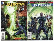 Justice League #30 & 31 avg. Nm+ 9.6 1st app. Jessica Cruz Dc 2014 No Resv