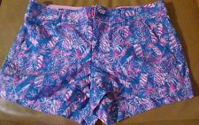 Lilly Pulitzer Walsh Shorts Cherry Bomb Sz 2 Hot!