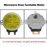 Replacement Turntable Motor for LG MP-9482SA MP9489SB MZ9480YRC Microwave Oven
