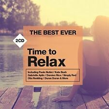 THE BEST EVER TIME TO RELAX  2 CD - VARIOUS ARTISTS