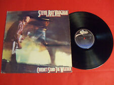 """Stevie Ray Vaughan 1984 Lp """"Couldn'T Stand The Weather"""" Rock Blues Vintage Vinyl"""
