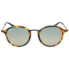 Ray Ban Round Fleck Flash Silver Gradient Flash Sunglasses 0RB2447F11579U52