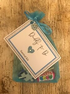 Daddy To Be Survival Kit Thoughtful Personal Unique Gift Dad Baby Shower
