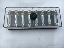 8 Way Continental Fusebox Fuse Box Holder Universal Standard with Fuses