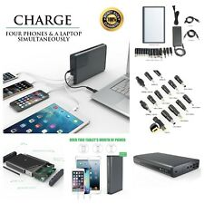 50000mAh BEST External Battery Portable USB Charger Power Bank For Laptop Mobile