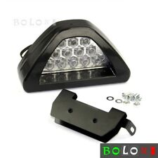 1pc F1 Style 12 LED Red Rear Tail Third Brake Stop Safety Light Universal Fits