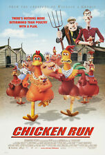 Chicken Run 27x40 Original Theater Double Sided Movie Poster