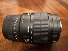Sigma 70-300mm 1:4-5.6 Zoom Macro Lens for Canon AF Made in Japan