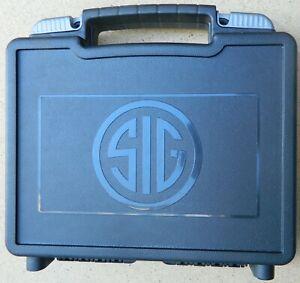 🔴 Original SIG SAUER SIG ARMS PISTOL CASE/BOX BLACK for P320