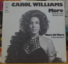 CAROL WILLLIAMS MORE HOLLAND PRESS SP EPIC 1976