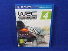 PS VITA WRC 4 Fia World Rally Championship Racing Game REGION FREE Pal English