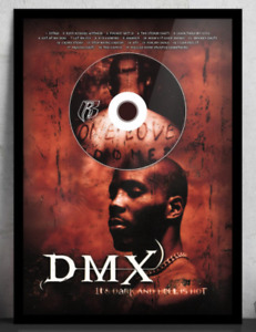 DMX 'It's Dark and Hell Is Hot' No Framed CD Album Plaque - Hip-Hop
