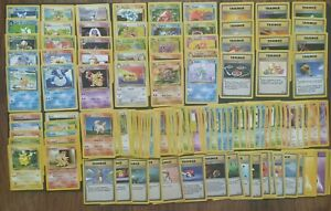 Pokemon WOTC Era Bulk Lot (9/21): 125+ LP/NM ~ Unc/Com 1999-2001 Multiple Sets