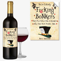 WINE BOTTLE LABEL Birthday ANY OCCASION GIFT Funny Cool Best Idea For DAD #1041