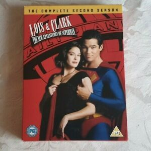 LOIS & CLARK - THE NEW ADVENTURES OF SUPERMAN DVD (Complete 2nd Season)