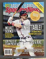 Dansby Swanson Atlanta Braves Autographed Signed Baseball Magazine