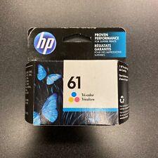HP 61 Tri-Color Ink Cartridge - Cyan/Magenta/Yellow