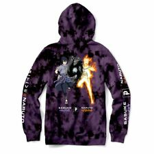Primitive Mens Hoodie Sweatshirt Jacket Powers Sasuke Naruto Blk Skate S-2Xl $80