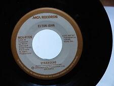 ELTON JOHN Strangers / victim of love MCA 41126 pressage CANADA